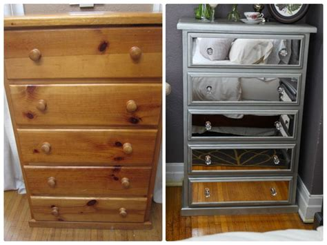 Diy Mirrored Chest Of Drawers Using Acrylic Mirrors … Electrolux Drawer Refrigerator Light Walnut Chest Of Drawers Organizer Cart With How To Sliding Desk Storage Cubes 2 File Cabinet Wood Custom Silverware