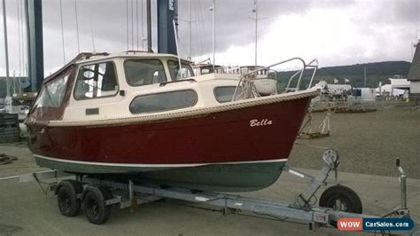 Cabin Cruiser Fishing Boat For Sale by Hardy 18 Navigator Fishing Boat Outboard Trailer Cabin
