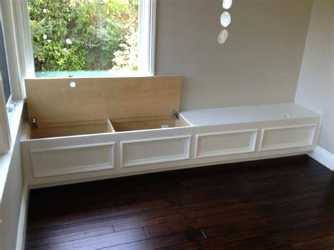 How To Make A Custom Breakfast Seating Nook Corner Storage