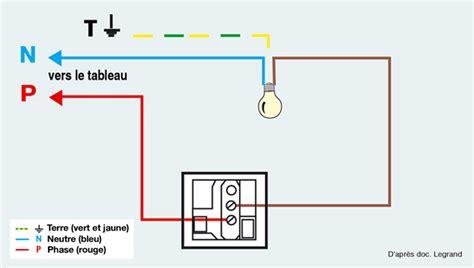 sch 233 ma 233 lectrique brancher un interrupteur simple syst 232 me d maisonbrico