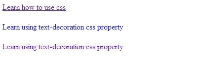 text decoration css property help me code
