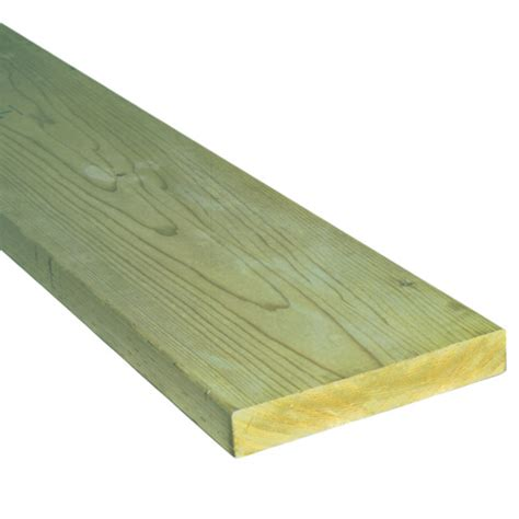 pressure treated deck board rona