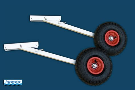 Inflatable Boat Launching Wheels by Launching Transom Wheels Set 10 In Tire For Inflatable