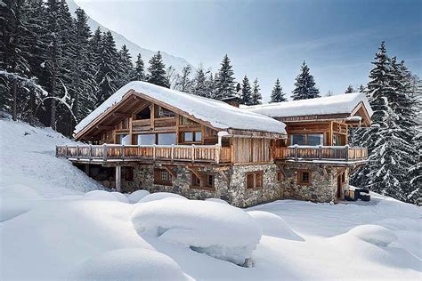 alps luxury ski chalet with pool to rent chamonix