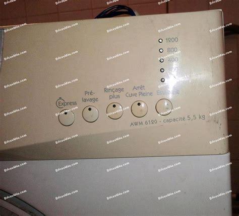 panne lave linge whirlpool awm 6120 conseils d 233 pannage forum electromenager