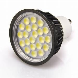 Led 5w Gu10 : white 5 watt led gu10 bulb super bright leds ~ Markanthonyermac.com Haus und Dekorationen