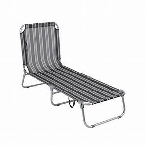 Balkon Liege Für Zwei : greemotion gartenliege klappbar texel sonnenliege grau gestreift liegestuhl aus aluminium ~ Markanthonyermac.com Haus und Dekorationen