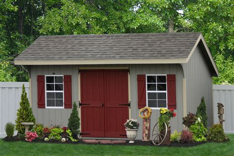 classic amish sheds in wood and vinyl siding buy amish