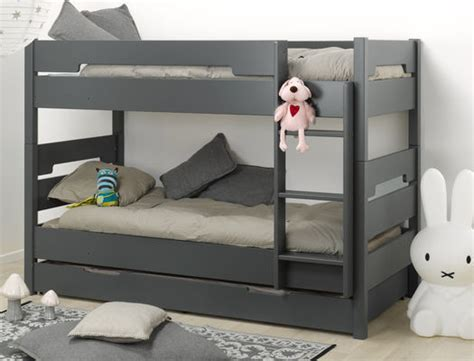 le lit enfant superpos 233 avec tiroir de lit un gain de place assur 233