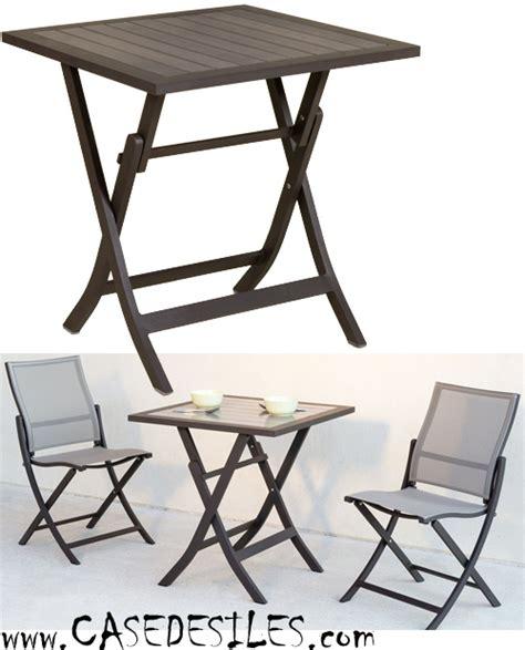 table de jardin en aluminium pliante 1003 pas cher