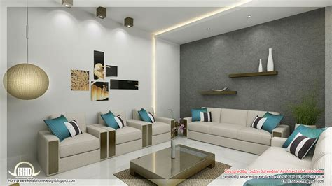 Awesome D Interior Renderings-kerala Home Design And