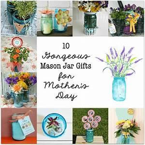 Mason Jar Succulent Terrarium - Domestically Speaking