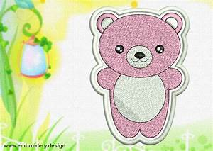 Cute Kawaii Animals patches embroidery designs pack ...
