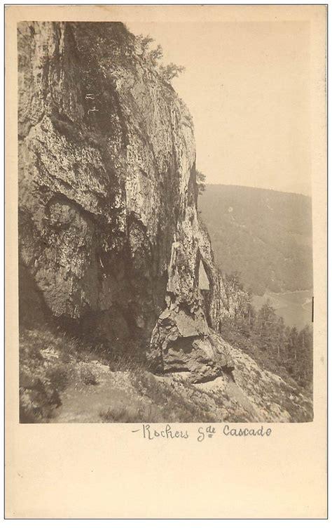 63 le mont dore rochers grande cascade prototype pour future carte postale