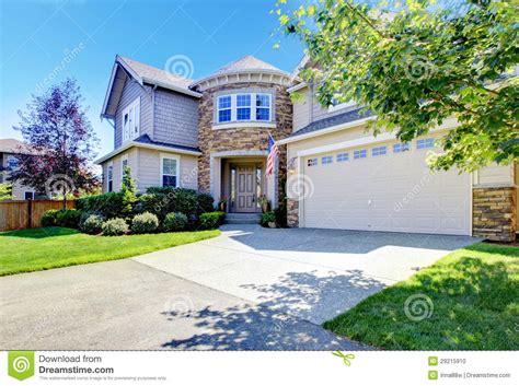 ordinaire maison americaine en bois 1 maison am233ricaine ext233rieure avec la tour et