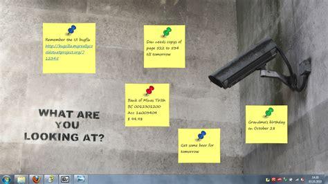 sticker des post it virtuels sur le bureau club du r 233 seau informatique de brossard clubrib