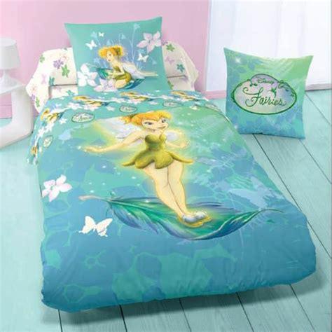 disney fairies housse de couette f 233 e clochette parure de lit enfant en flanelle flowers