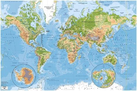 carte murale du monde physique et des oceans 3 x 2m fr fournitures de bureau id 233 es