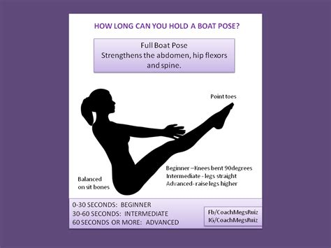 Boat Pose Full by Full Boat Pose On The Move Fitness Pinterest