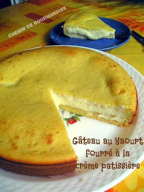 g 226 teau au yaourt fourr 233 224 la cr 232 me patissi 232 re chemin de gourmandise