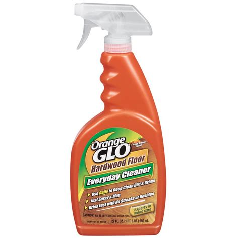 orange glo hardwood floor everyday cleaner review