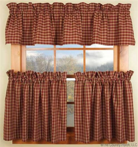 28 best images about curtains on plaid quilt country curtains and country
