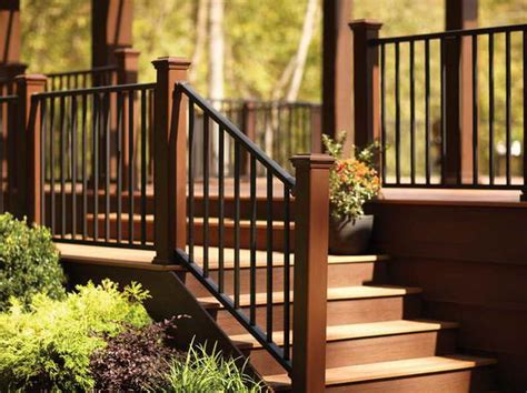 stairs the right steps on building deck stair railing with metal design the right steps on