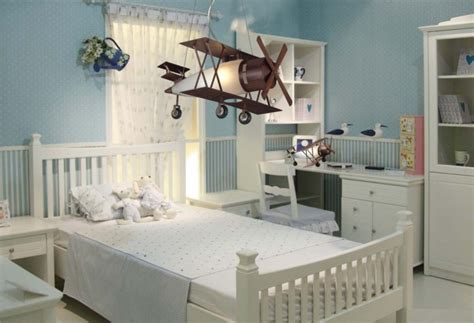 Modern Attractive Airplane Light Fixture Concept For Kids