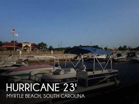 Deck Boats For Sale Myrtle Beach by Sold Hurricane Fun Deck 236 Boat In Myrtle Beach Sc 081667