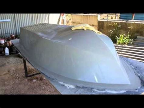 Types Of Resin Boats by Fibreglass Boat Building From Mold Youtube