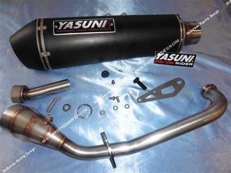exhaust yasuni for maxi scooter yamaha n max 125cc 4 stroke www rrd preparation