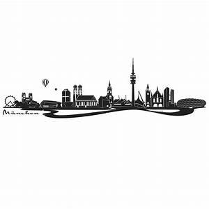 B Und B Italia München : wandtattoo skyline m nchen mit fluss no place like home pinterest fluss wandtattoo und ~ Markanthonyermac.com Haus und Dekorationen