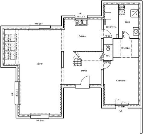 plan de maison contemporaine exemple de maison moderne news immo