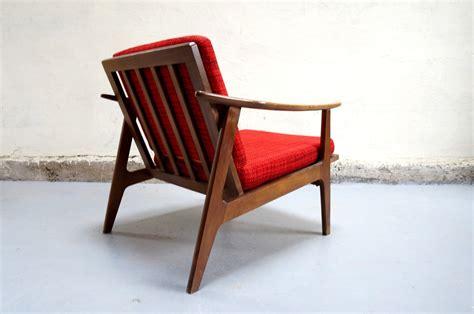 vendu fauteuil scandinave chauffeus design 233 es 50 60 70 mad mobilier vintage teck