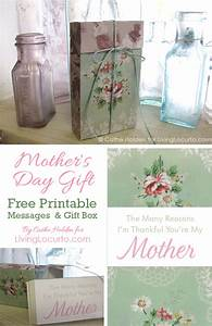 Free Printable Message Box Tutorial Craft for Mother's Day