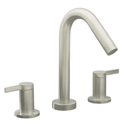 kohler stillness bathroom faucet trim only in vibrant brushed nickel k t954 4 bn the home depot