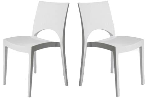 chaise de cuisine blanche pas cher en ligne