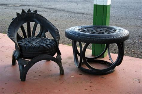 Diy Furniture From Car Tyres
