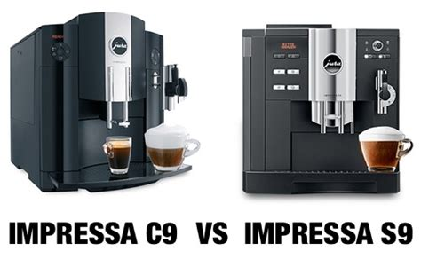 Jura IMPRESSA C9 vs. S9: What's The Difference Between Them?   Super Espresso.com