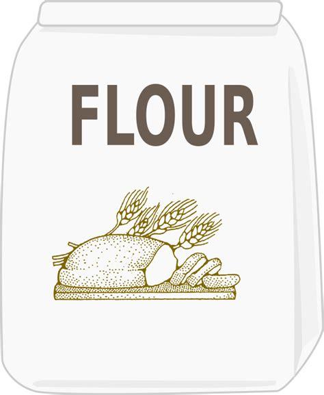 Clipart  Bag Of Flour