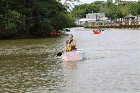 Cardboard Boat Videos by Cardboard Boat Race Returns To Peconic Riverfront Video
