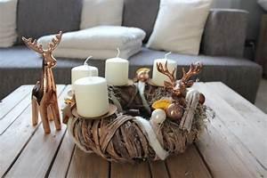 Adventskranz Edelstahl Dekorieren : nat rlich dekorieren im advent und zu weihnachten ~ Markanthonyermac.com Haus und Dekorationen