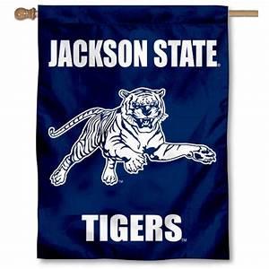 JSU Tigers Wordmark House Flag your JSU Tigers Wordmark ...