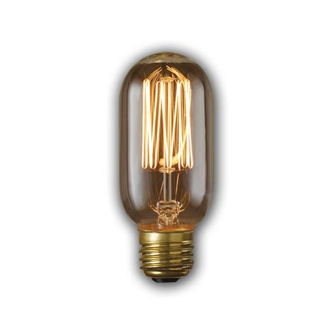 shop fashion lighting vintage 40 watt medium base warm white dimmable decorative incandescent