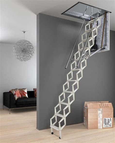 comment installer un escalier escamotable
