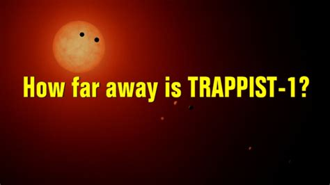 How Far Away Is Trappist1? Youtube