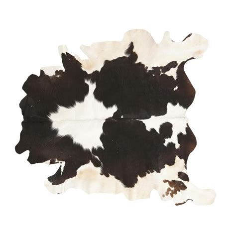 tapis vache noir maisons du monde