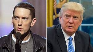 Eminem blasts President Trump in freestyle rap - CNN Video