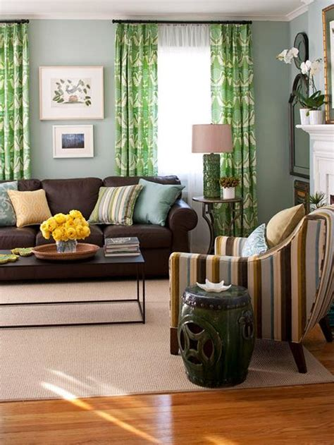 living room curtain ideas brown furniture modern interior colors and matching color combinations