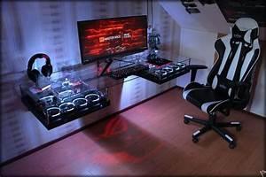 Gaming Zimmer Ideen : 21 interesting game room ideas p hardware pc tisch tisch und computer ~ Markanthonyermac.com Haus und Dekorationen